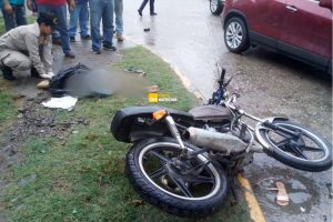 accidente motocicleta