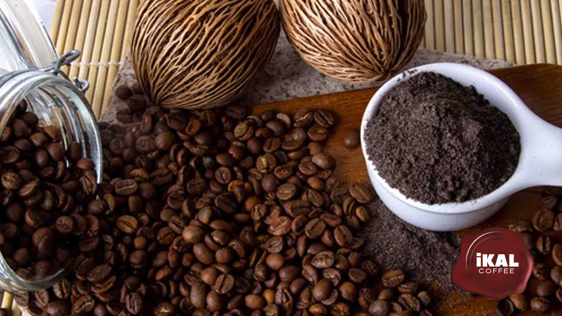 ikal coffee exfoliante de café